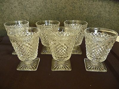 Westmoreland English Hobnail Fruit Cocktail Glass - Square Foot  -  6