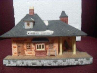 Dept. 56  ~  CHADBURY STATION & TRAIN 65285... Set Of 4  * PERFECT CONDITION