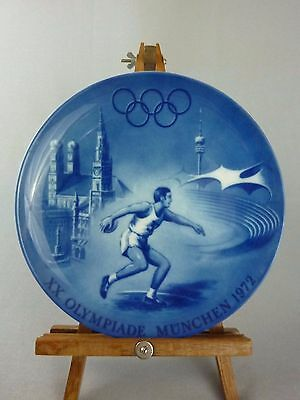 Berlin Design Commemorative Collector Plate / 1972 Olympic Games Munich Germany