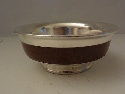 Used Traditional Mongolian Silver Bowl # 3