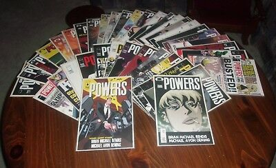 POWERS (2000,1st Series) 1-37 Complete Run + Annual 1 (38 Issues Total) NM-M