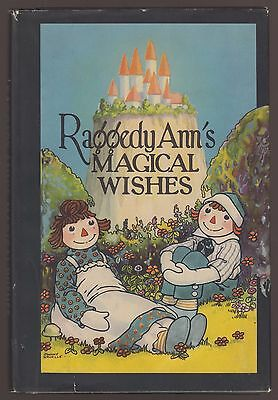 RARE VG 1930s Vintage OLD HC DJ Raggedy Ann Magical Wishes Johnny Gruelle Nice