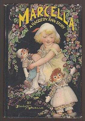 RARE VG 1930s Vintage OLD HC in a DJ Raggedy Ann Marcella Johnny Gruelle Nice