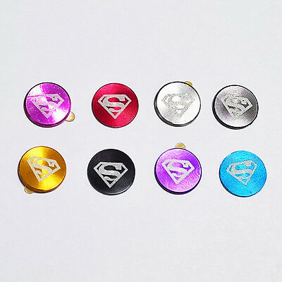 Metal Home Button superman logo Sticker for iPhone 8 7 6s 6 Plus SE 5s 5c 5 4s