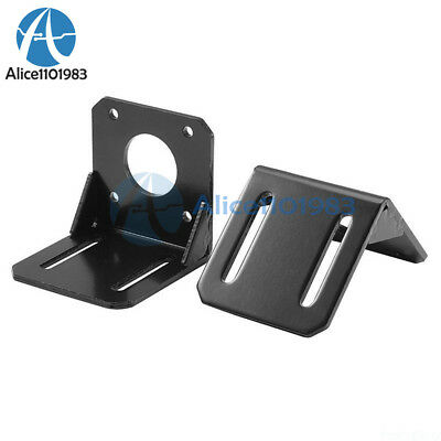 2PCS For 42mm NEMA17 Stepper Motor Alloy Steel Mounting Bracket