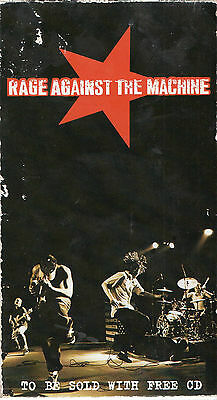 """Rage Against The Machine - Rare Vhs """"to Be Sold With Free Cd"""""""