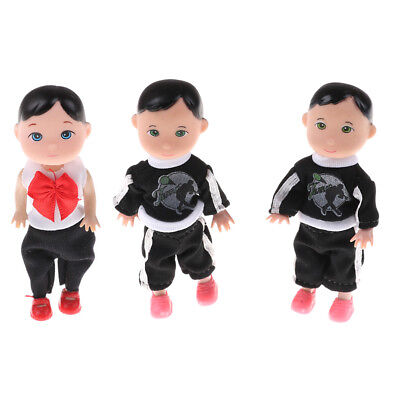 2pcs Cute 10cm Barbie baby baby dolls Toys cute small Confuse dolls toys BC