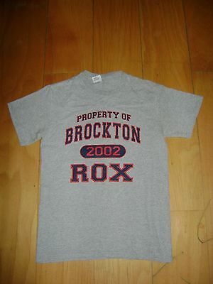 BROCKTON ROX Baseball Team Jersey T-shirt BOSTON RED SOX SIZE S