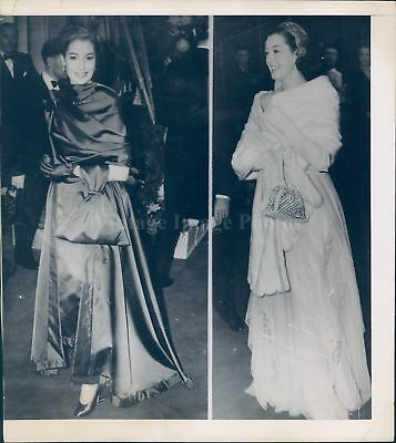 1949 Photo Valerie Hobson Roz Russell Beautiful Women Vintage Dress Smiling
