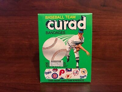 Vintage Curad Baseball Team Bandages 1985.