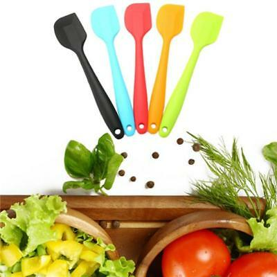 Flexible Cake Cream Butter Spatula Mixing Batter Scraper Silicone Baking Tool LD