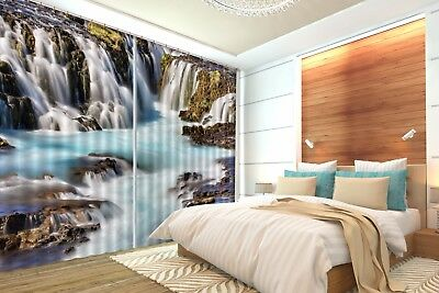 3D River Nature 52 Blockout Photo Curtain Printing Drapes Fabric Window CA Carly