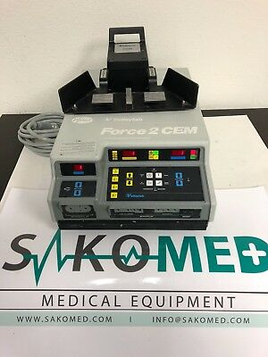 Valleylab Force 2 CEM Electrosurgical Unit (ESU) with Monopolar Pedal/ TESTED