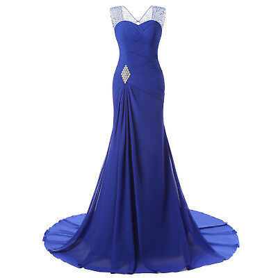 crystal Mermaid Tail Long Evening Dresses For elegant Women  formal Party  Guest