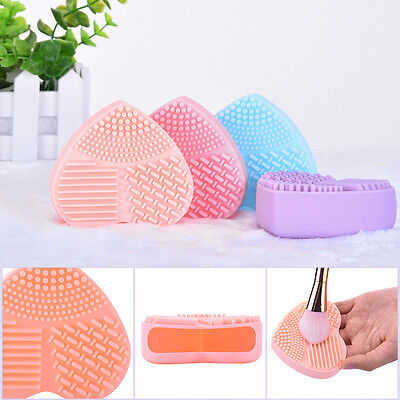 Silicone Makeup Brush Cleaner Pad Hand Tools Washing Scrubber Board Cleaning Mat