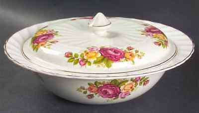 Wood & Sons COTTAGE ROSE Round Covered Vegetable Bowl S773581G2