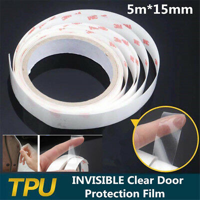 5m Invisible High Strength Car Door Sill Edge Paint Anti Scratch Film Protector