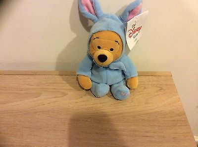 DIsney Beanies EASTER POOH Disney Store Mint With Tag