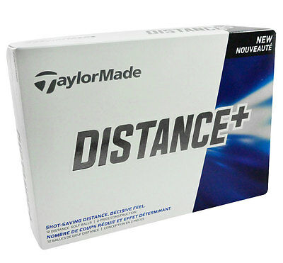 Taylor Made Distance  Brand New Golf Balls - 3 dozen