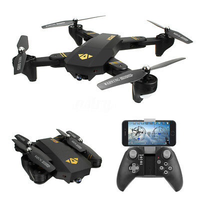 VISUO XS809HW WIFI FPV w/ HD Cam High Hold Mode Foldable Arm RC Quadcopter RTF