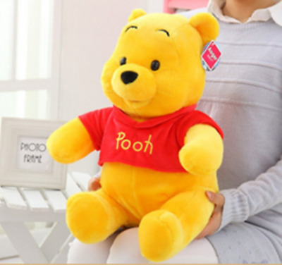 "12""/30cm Cuddly Winnie the Pooh Bear Stuffed Plush Toy Doll Baby Kids Gift"