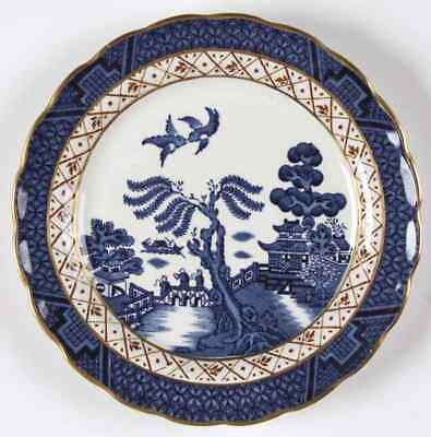 Booths REAL OLD WILLOW BLUE Bread & Butter Plate 38661