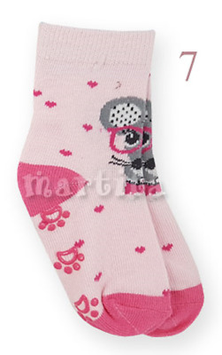Baby Girl Anti Non Slip Cotton Socks Abs Sole Size:20/22 (12-18 Months)