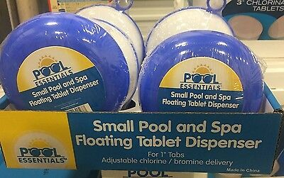 Pool Essentials Small Pool and Spa Floating Tablet Dispenser 38173ESS