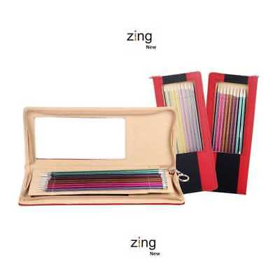 "Knitter's Pride ::Zing Single Pointed Needle Set:: 10"" / 25 cm Brand New"