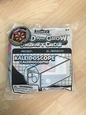 Lowes Build And Grow Wooden Kaleidoscope With Patch 2009