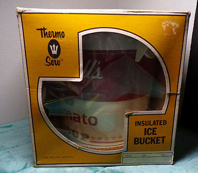 Campbell's Soup ~ Thermo Serv ~ Insulated Ice Bucket ~ One Gallon ~ New