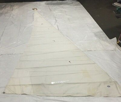 Headsail in Fair Condition by North Sails 37.3' Luff With Bag