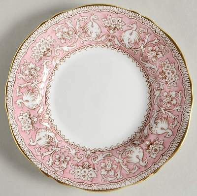 Crown Staffordshire ELLESMERE PINK Bread & Butter Plate 94885