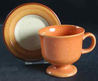 Franciscan TANGIER Cup & Saucer 141758