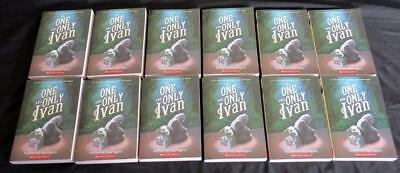 12 NEW ONE & ONLY IVAN set GUIDED READING book lot Newbery Applegate class set