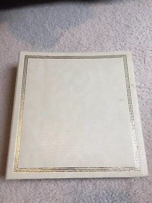 Vintage Photo Album Refill 3 Ring Magnetic Pages Open Holds 8 X 10