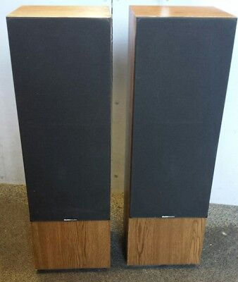 Vintage Boston Acoustics t830 speakers. Refoamed. Local pickup San Diego