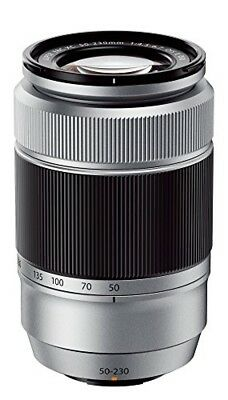 FUJIFILM telephoto zoom lens XC 50-230mm F4.5 - 6.7 OIS IIS silver from japan