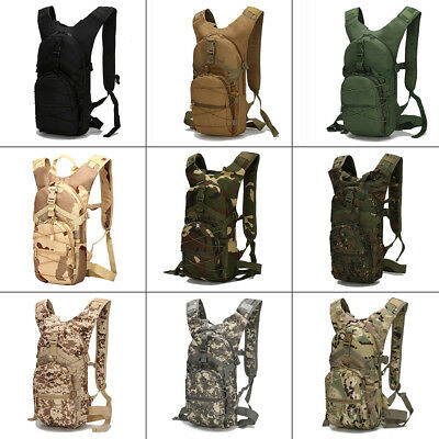 Waterproof Military Tactical Backpack Outdoor Trekking Hiking Camping Bag 15 L
