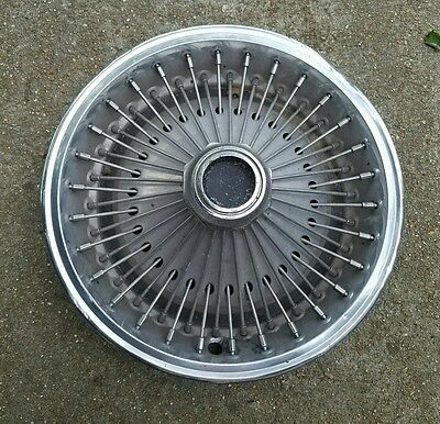 """Vintage OEM 1970-80 Dodge Plymouth Midsize 14"""" Wire Spoked Hubcap Wheel Cover"""