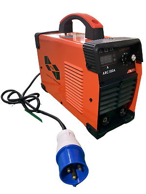 180Amp Mma/Arc Dc Inverter Welder With Led Display, Case + Accessories -180Amp