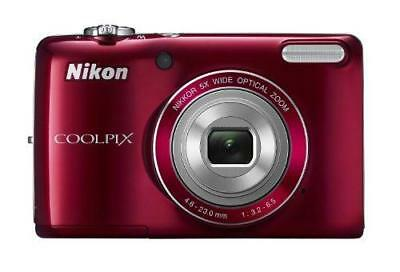 COOLPIX L26 16.1 MP Digital Camera w/ 5x Zoom NIKKOR Glass Lens and 3 in.