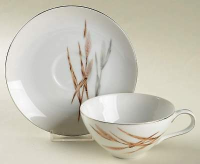 Harmony House SILVER WHEAT Cup & Saucer 812759