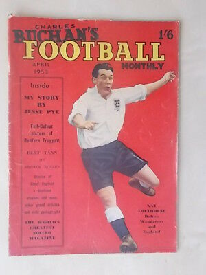 Football Monthly Magazine April 1953 - Bolton - Sheffield Wednesday