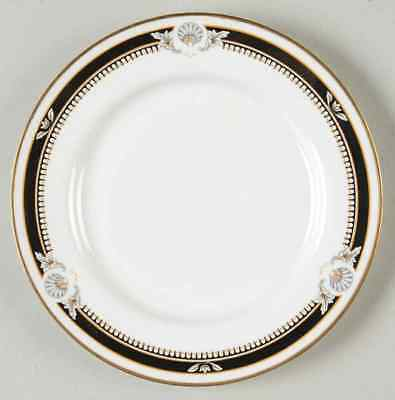 Aynsley SOUTH PACIFIC BLACK Bread & Butter Plate 24210