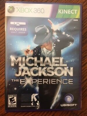 Xbox 360 Game Michael Jackson: The Experience (Kinect) (Brand New)