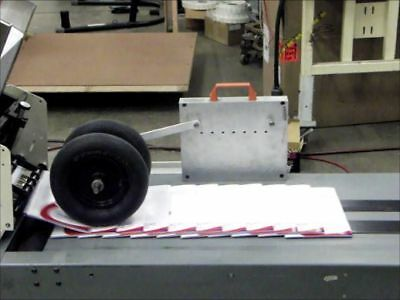 QuickSet HoldDown Conveyor Shingling Wheels, Easy Setup with No Tools Needed