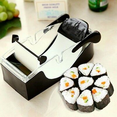 Sushi Roll Maker DIY Rice Roller Mold Perfect Cutter Easy Sushi Making Machine