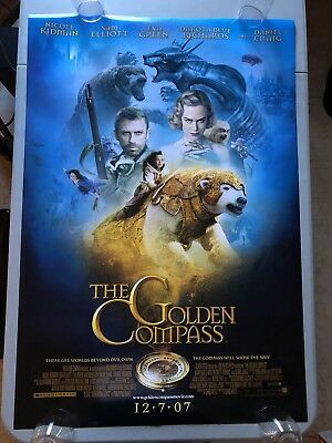 The Golden Compass - Original Double Sided 27x40 Theater Movie Poster
