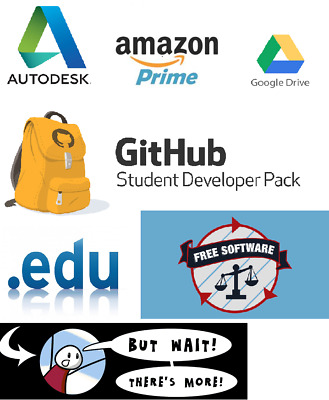 EDU Email, Discounts For: Amazon Prime, Office365 and more!